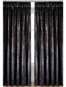 laurence-llewelyn-bowen-curtain-call-velvet-effect-pencil-pleat-curtains