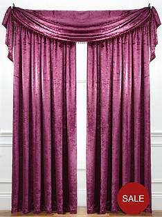 laurence-llewelyn-bowen-curtain-call-velvet-effect-scarf-valance