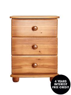 stanton-solid-pine-3-drawer-bedside-table