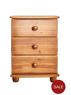 stanton-solid-pine-3-drawer-bedside-table