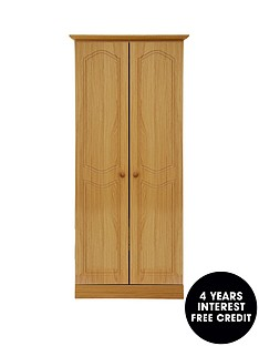 consort-hudson-ready-assembled-2-door-wardrobe