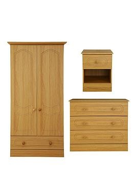 consort-hudson-ready-assembled-wardrobe-3-drawer-chest-and-bedside-chest-package-deal-buy-and-save