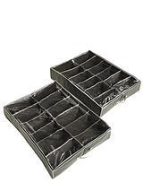 Ideal Underbed Shoe Storage Organisers (2 pack)