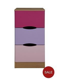 ladybird-harley-3-drawer-kids-bedside-chest