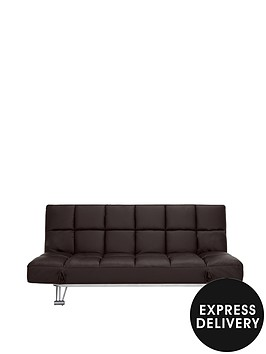 luxor-faux-leather-sofa-bed
