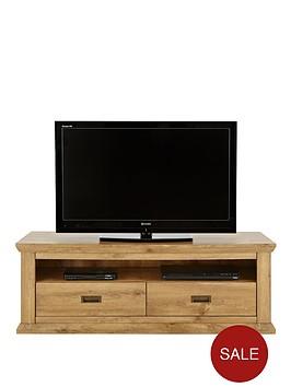 clifton wide tv unit fits up to 60 inch tv. Black Bedroom Furniture Sets. Home Design Ideas