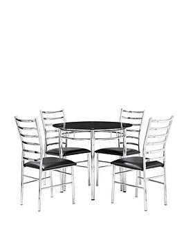 elect-circular-dining-table-and-4-chairs