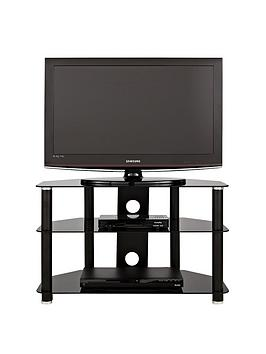Pluto Glass Flatscreen TV Stand  fits up to 42 inch TV