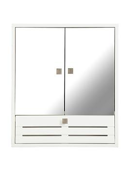 slatted-3-door-mirrored-bathroom-cabinet-white
