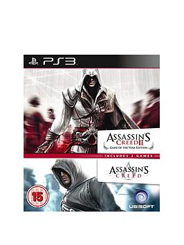 playstation-3-assassins-creed-1-and-2-double-pack