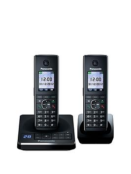 panasonic-kx-tg8562eb-telephone-with-answering-machine-twin-pack