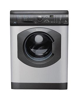 Hotpoint Aquarius Wdf740G 1400 Spin 7Kg Wash5Kg Dry Washer Dryer  Graphite