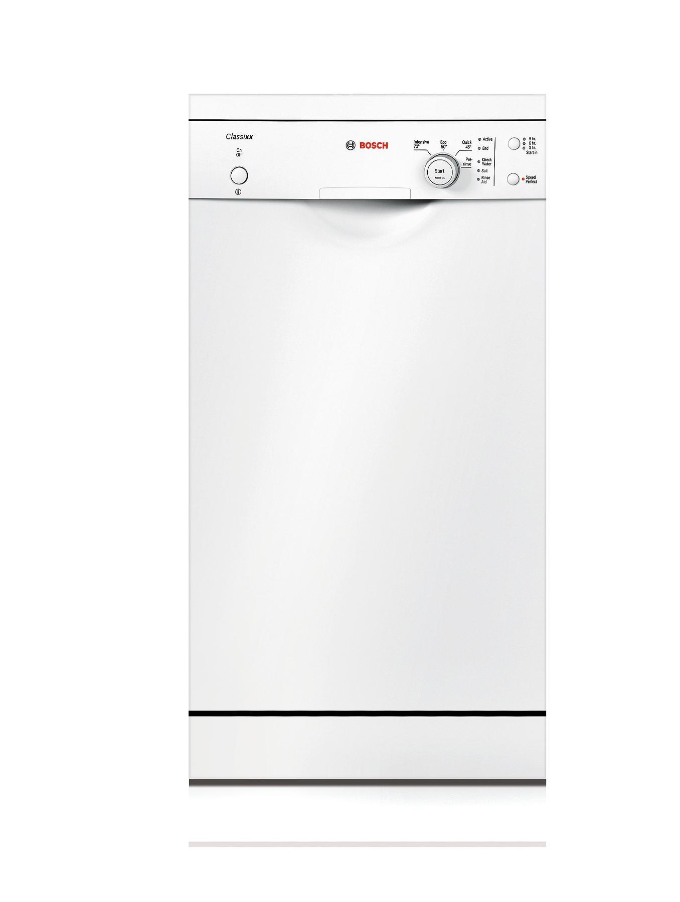 9 Place Slimline Dishwasher - White