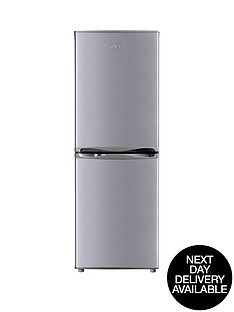 swan-sr5290s-50cm-fridge-freezer-silver-next-day-delivery