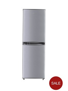 swan-sr5300s-55cm-fridge-freezer-next-day-delivery-silver