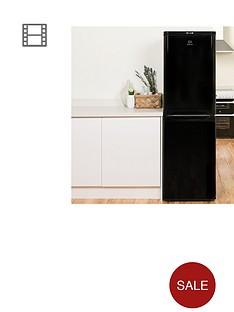 indesit-caa55k-55cm-fridge-freezer-black