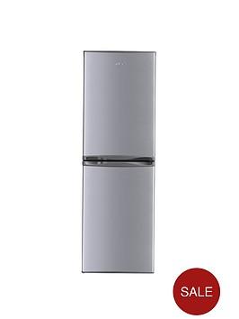 swan-sr5310s-55cm-frost-free-fridge-freezer-next-day-delivery-silver