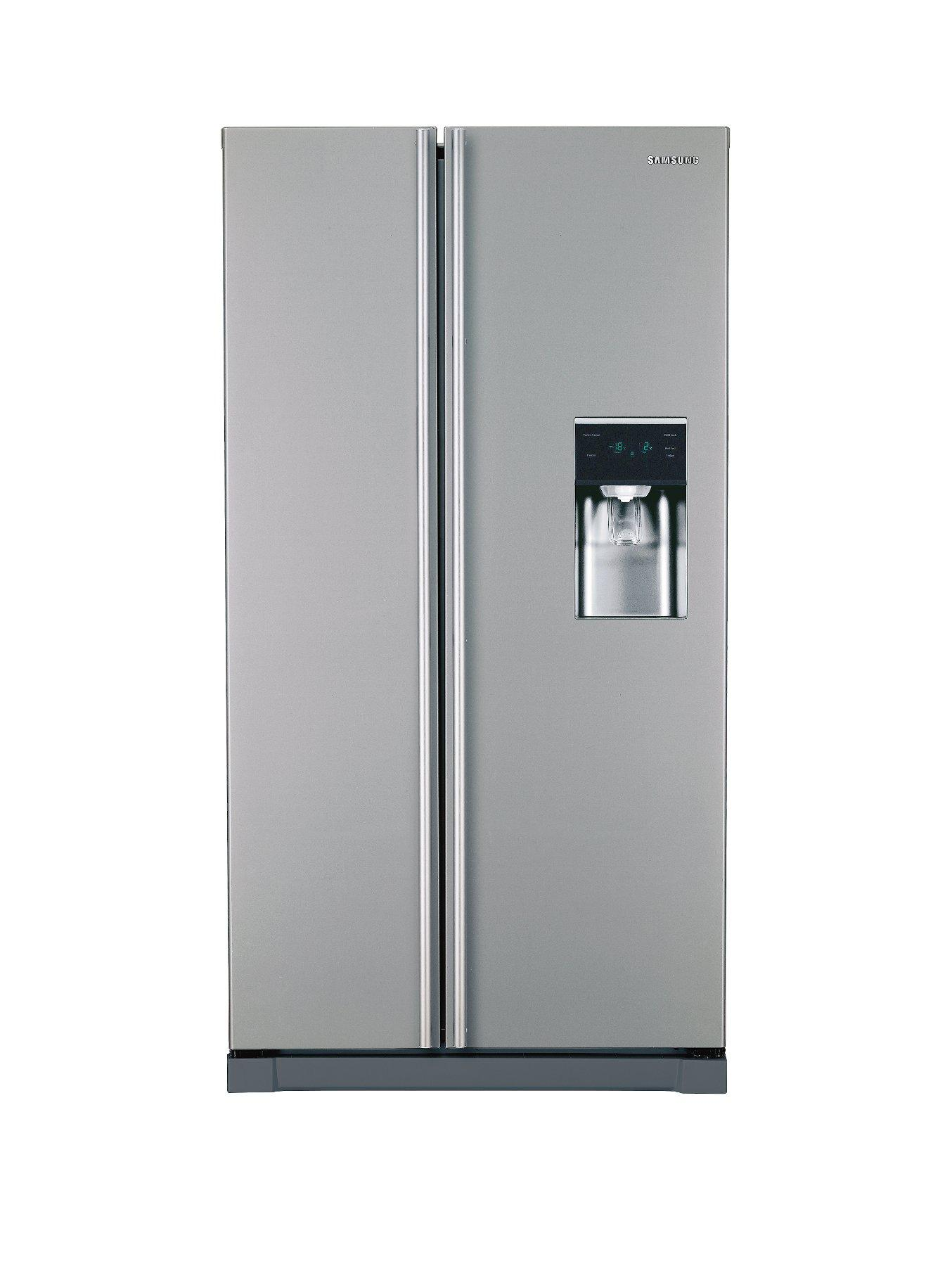 1/XEU USA Style Fridge Freezer - Grey