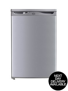 swan-sr5151s-55cm-under-counter-larder-freezer-silver-next-day-delivery
