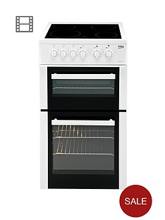beko-bdc5422aw-50cm-electric-cooker-with-connection-white