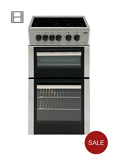 beko-bdc5422as-50cm-single-oven-electric-cooker-silver