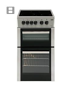 beko-bdc5422as-50cm-single-oven-electric-cooker-silver