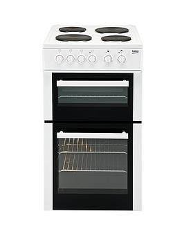 beko-bd533aw-50cm-single-fan-oven-electric-cooker-white