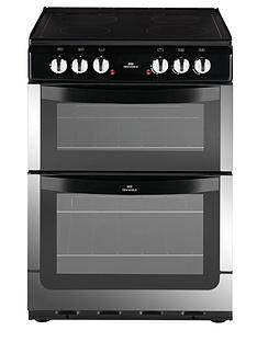 new-world-nw601edo-60cm-double-oven-electric-cooker-stainless-steel