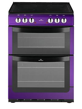 new-world-nw601edo-60cm-double-oven-electric-cooker-with-optional-connection-purple