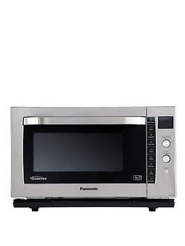 Panasonic NNCF778S Flatbed Combination Microwave