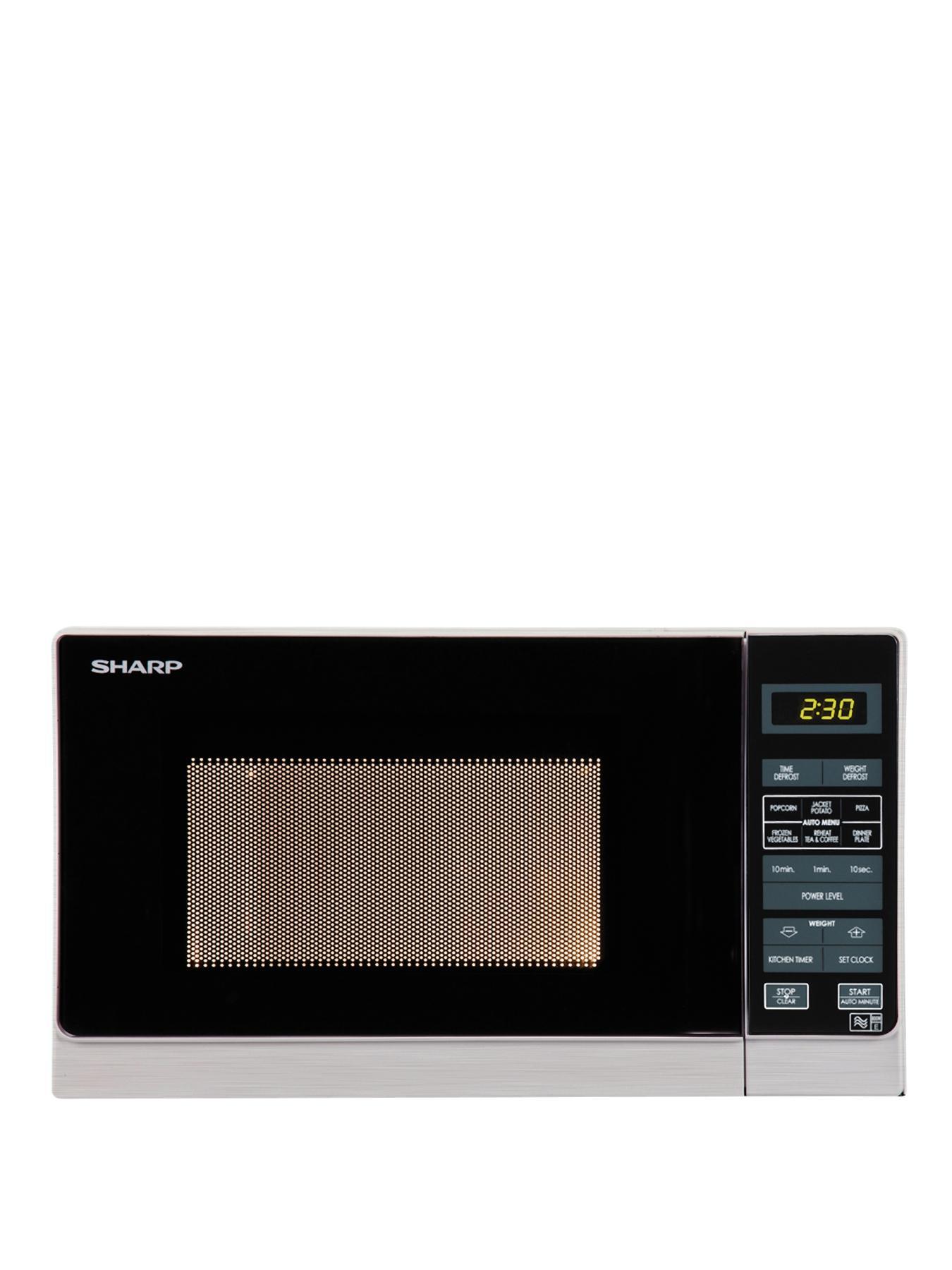 Solo 800watt Microwave  Silver