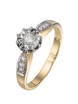 love-diamond-9-carat-yellow-gold-20-points-diamond-twist-set-ring