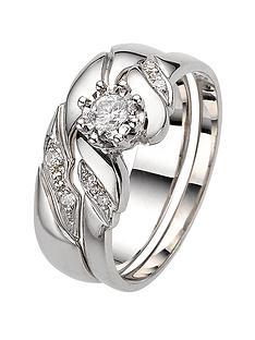 love-diamond-9-carat-white-gold-15-point-illusion-twist-bridal-set