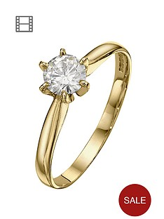 moissanite-18-carat-yellow-gold-50pt-equivalent-solitaire-ring