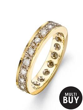 love-diamond-9-carat-yellow-gold-50pt-full-diamond-eternity-ring