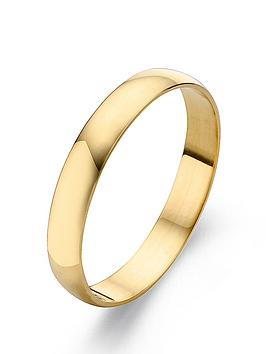love-gold-9-carat-yellow-gold-court-wedding-band-4mm