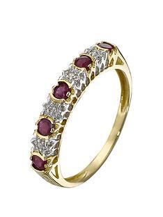 love-gem-9-carat-yellow-gold-diamond-and-ruby-eternity-ring