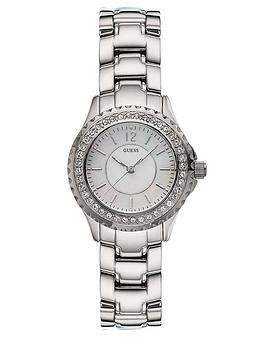 guess-ladies-mini-rock-candy-stainless-steel-watch
