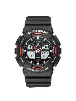 Casio G Shock Red and Black Mens Watch