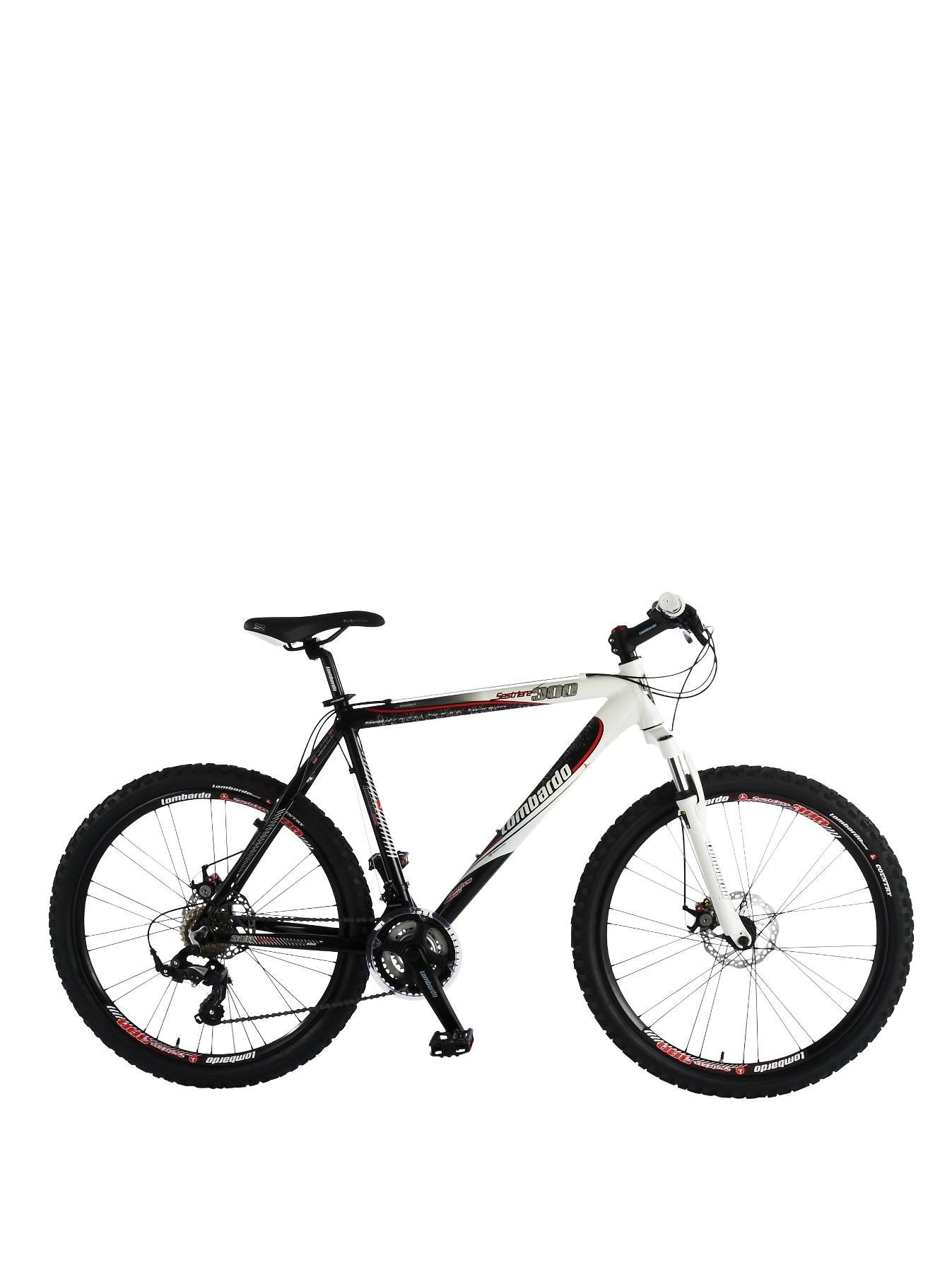 Sestriere 300 Alloy 21 Speed Front Suspension Mens Bike