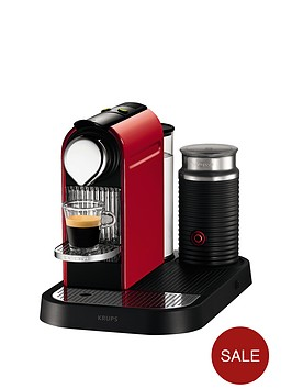nespresso-citiz-xn730540-coffee-machine-and-aeroccino-milk-frother-by-krups-red