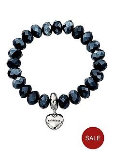 fiorelli-heart-charm-stretch-bracelet