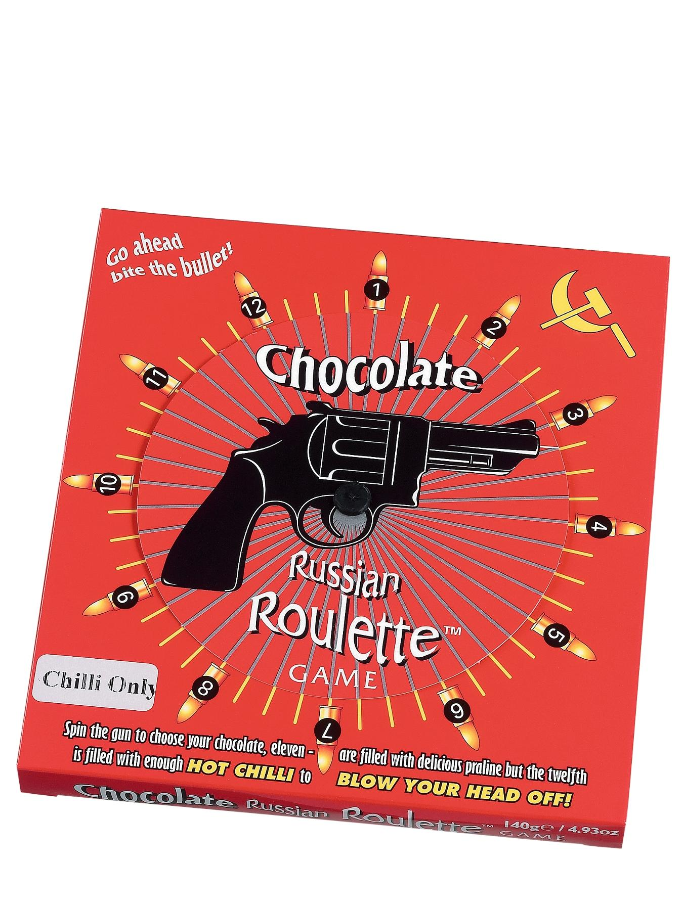 Chilli Chocolate Russian Roulette Game