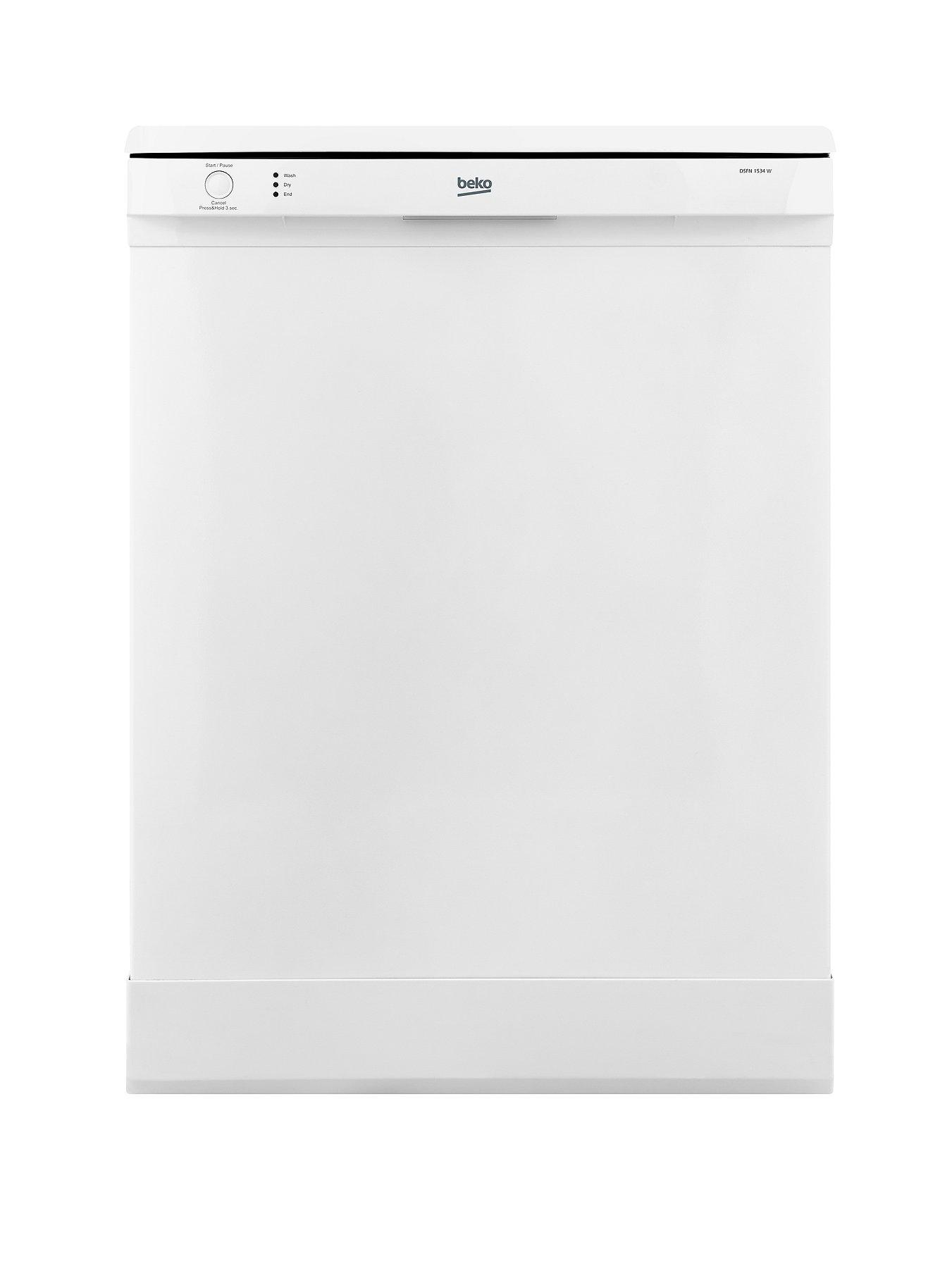 12-Place Full Size Dishwasher - White