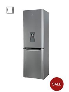indesit-biaa13pfsiwd-60cm-fridge-freezer-with-water-dispenser-silver