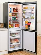 BIAA13PFKWDL 60cm Fridge Freezer with Water Dispenser - Black
