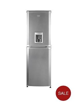 beko-cfd5834aps-55cm-frost-free-fridge-freezer-silver