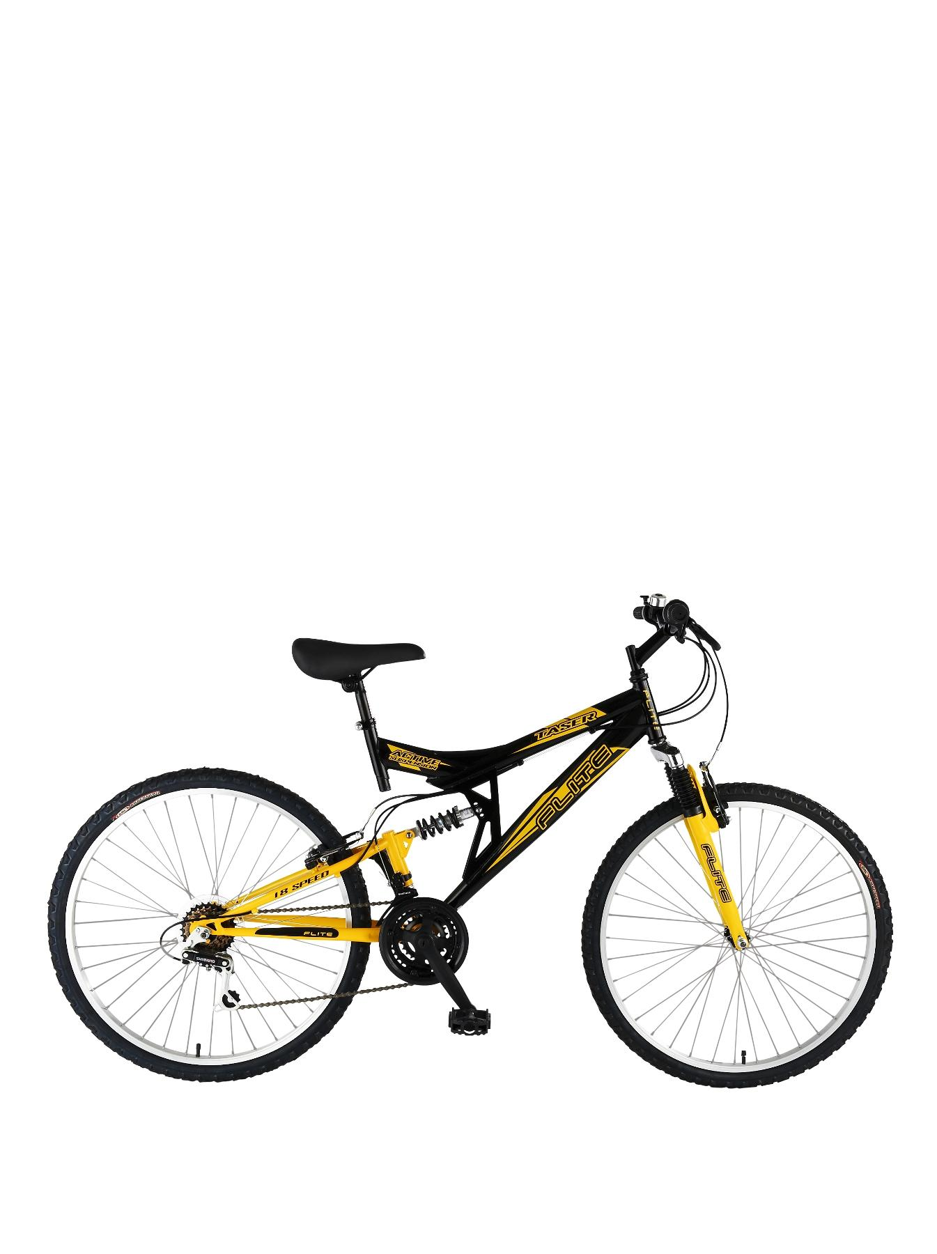 Taser 18 Speed Dual Suspension 26 inch Mens Bike