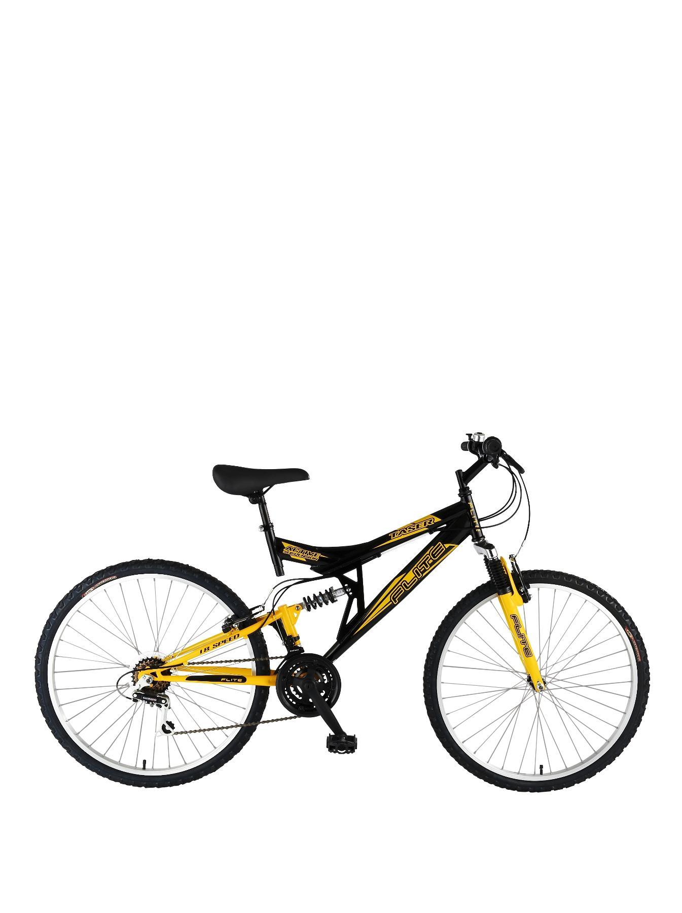 Taser 18 Speed Dual Suspension 26 inch Mens Bike