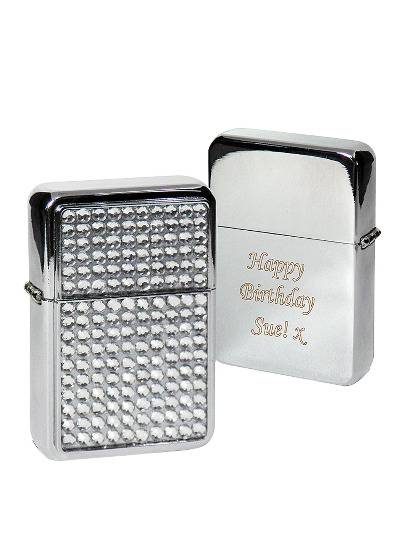 Personalised Diamanté Lighter